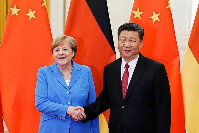 Merkel und die Weltpolitik in schwieriger Zeit
