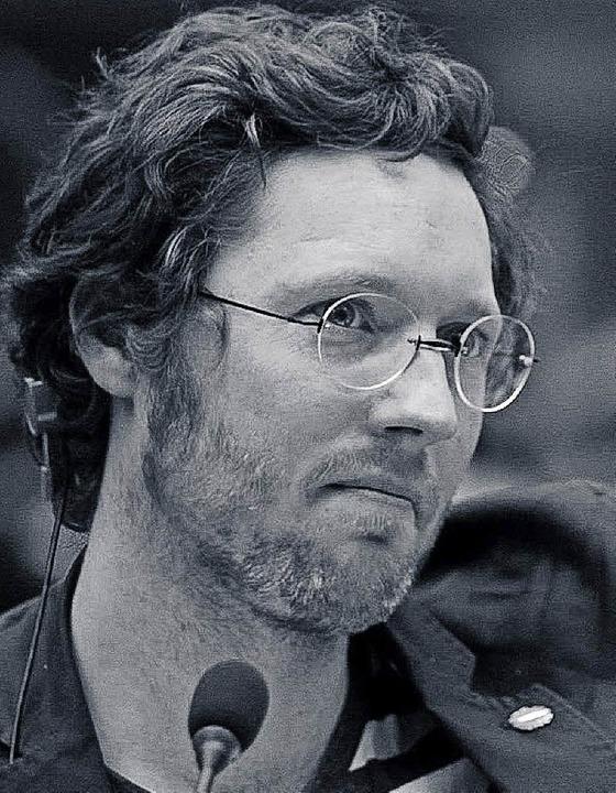 Der Europaabgeordnete Jan Philipp Albrecht 2015  | Foto: BZ