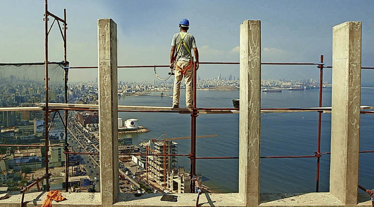 Blick auf Beirut von der Baustelle aus    Foto: 3Rosen (deutschfilm)
