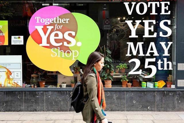 Iren stimmen über die Legalisierung von Schwangerschaftsabbrüchen ab
