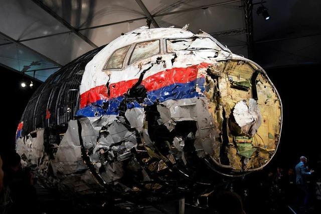 Niederlande und Australien machen Russland für Abschuss von MH17 verantwortlich
