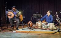 Duo Shaffan Soleiman (Oud) und Ranjith Gunatilleke (Tabla) in Badenweiler
