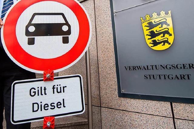 Diesel-Fahrverbote in Stuttgart laut neuem Gutachten zwingend