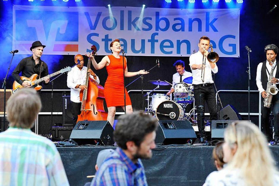 Robyn Bennet & Bang Bang (Freitag, 20 Uhr, Marktplatz) (Foto: Hans-Peter Müller)