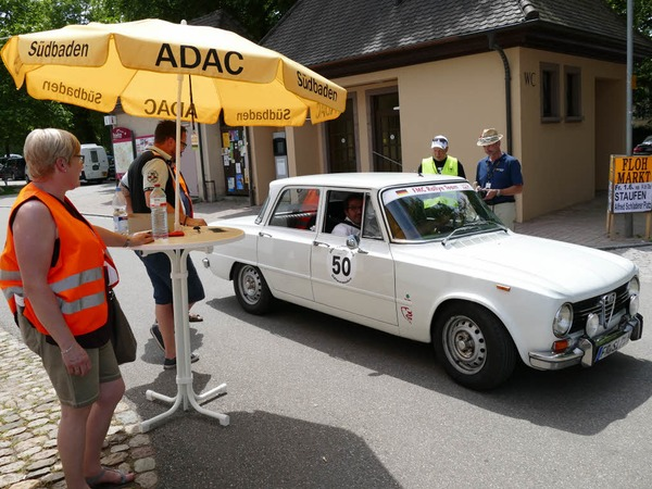 Der Alfa Romeo Giulia kam kurz darauf an
