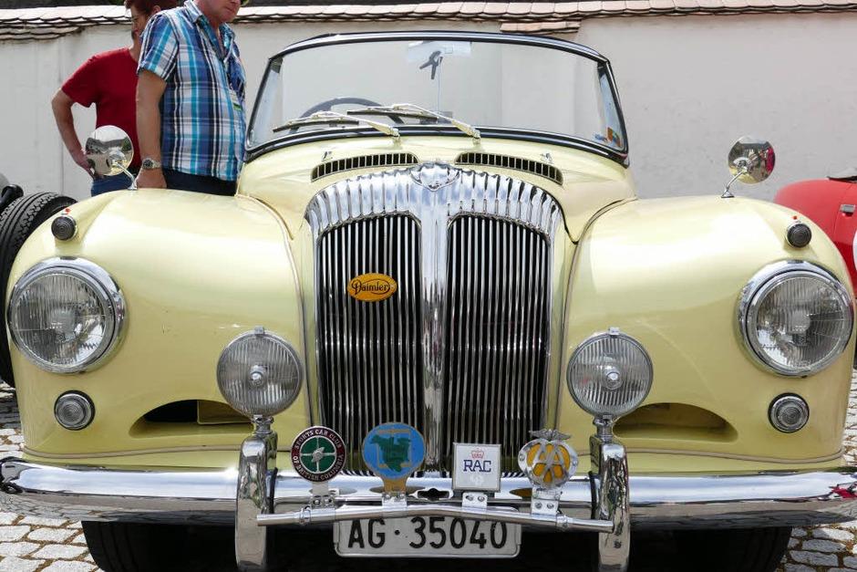 Daimler Conquest von 1956 (Foto: Hans-Peter Müller)