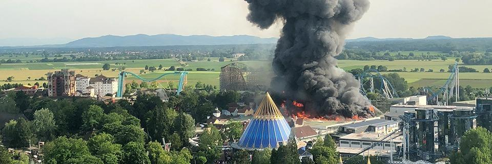 Feuer im Europa-Park zerstört Batavia-Attraktion und Teil des Skandinavien-Bereichs