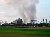 Fotos: Großbrand im Europapark Rust