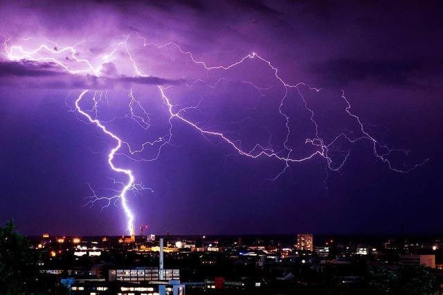 Wetterdienst warnt vor extremen Unwettern in Teilen des Südwestens