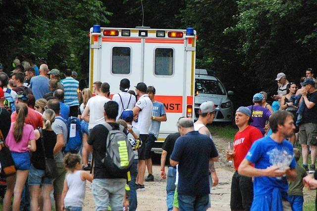 Schwerer Unfall beim Motocross-Turnier in Schopfheim