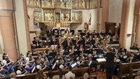 Trachtenkapelle Glottertal spielt in St. Blasius