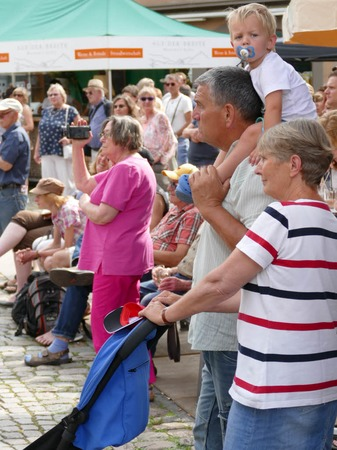 Impressionen vom Musikfestival Wein und Musik in der Staufener Altstadt
