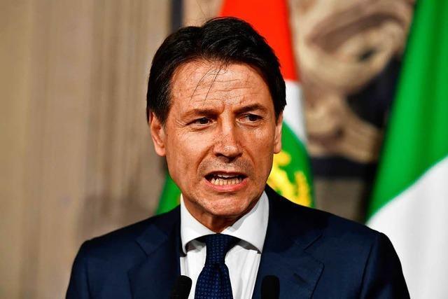 Regierungsbildung in Italien gescheitert - Conte gibt auf