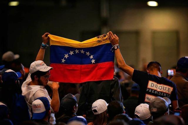 Rechter Newcomer und linker Veteran in Stichwahl in Kolumbien