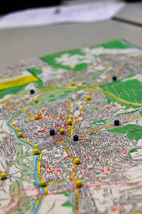Die Feinstaubbelastung in Lörrach ist gering, stellten die Jungforscher fest.  | Foto: Aaron Hohenfeld
