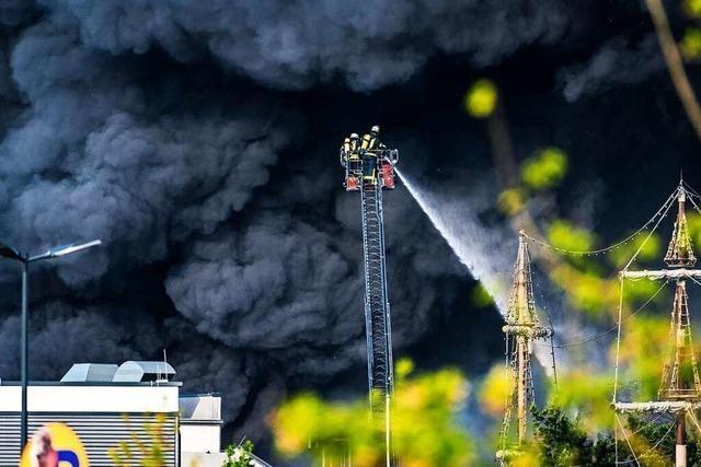 So haben Feuerwehrmänner aus Rust und Herbolzheim den Brand im Europa-Park erlebt