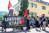 Besetzte Wohnungen in Stuttgart geräumt – Protest gegen Wohnungsnot