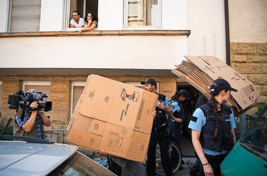 Räumung in Stuttgart  | Foto: dpa