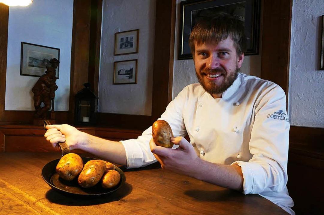 Küchenmeister Daniel Frech vom Hotel-R...eder bei den Brägelwochen dabei sein.   | Foto: Stefan Limberger-Andris