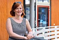 Tamina Theiß ist am Theater Freiburg für Freie Gruppen zuständig