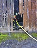 Lebensrettung und Brandbekämpfung