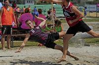 Handball im Sandkasten