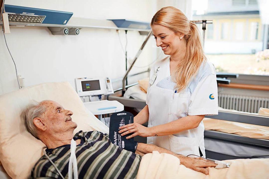 Die Mehrheit der befragten Fachkräfte ...inrichtung einer Pflegekammer im Land.  | Foto: Kliniken des Landkreises Lörrach