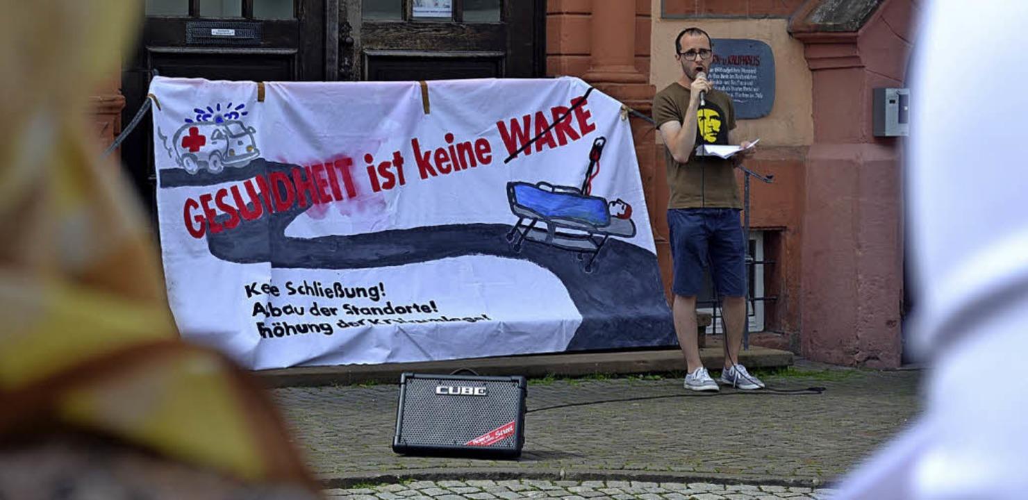 Fordert dazu auf, gegen Klinikschließu... für den Erhalt der Ortenauer Kliniken  | Foto: Rudolf