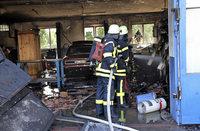Acherner Freibad nach Werkstattbrand evakuiert