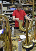 Der Tüftler an der Tuba