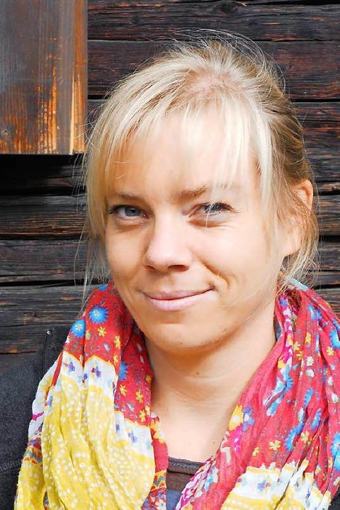 Geva Peerenboom von der Professur für ...anagement an der Universität Freiburg.  | Foto: zvg
