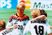 Als Stefan Effenberg bei der WM 1994 den Stinkefinger zeigte