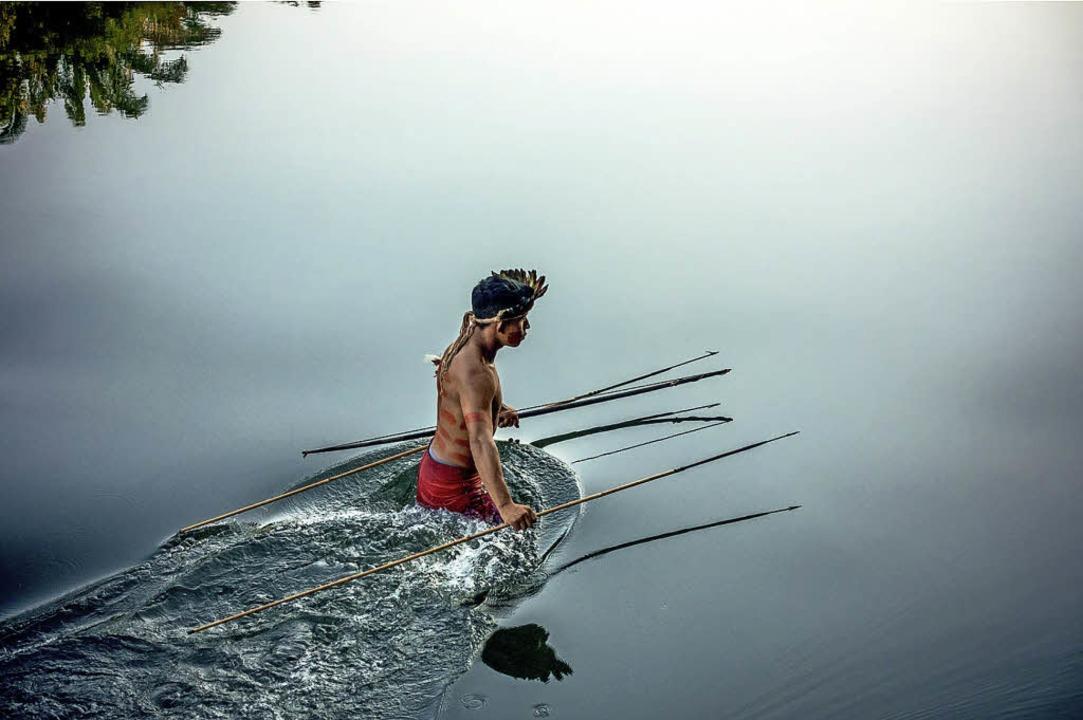 Madarejúwa geht auf die Jagd.    Foto: Thomas Fischermann