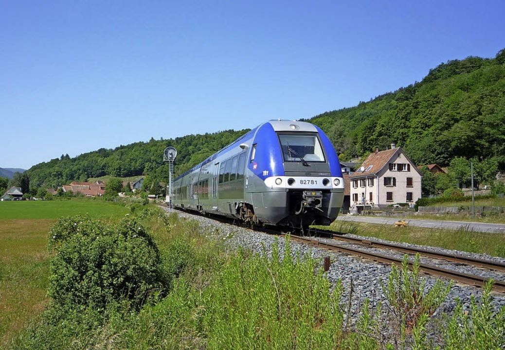 Viel genutzt: die Bahn zwischen Colmar und Munster   | Foto: ADT