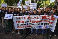 Gewerkschafter beklagt das Sterben der Zeitungen im Südelsass