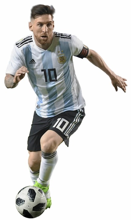<BZ-Rubrik>Lionel Messi</BZ-Rubrik><Dr...naldo und Neymar.  | Foto: AFP