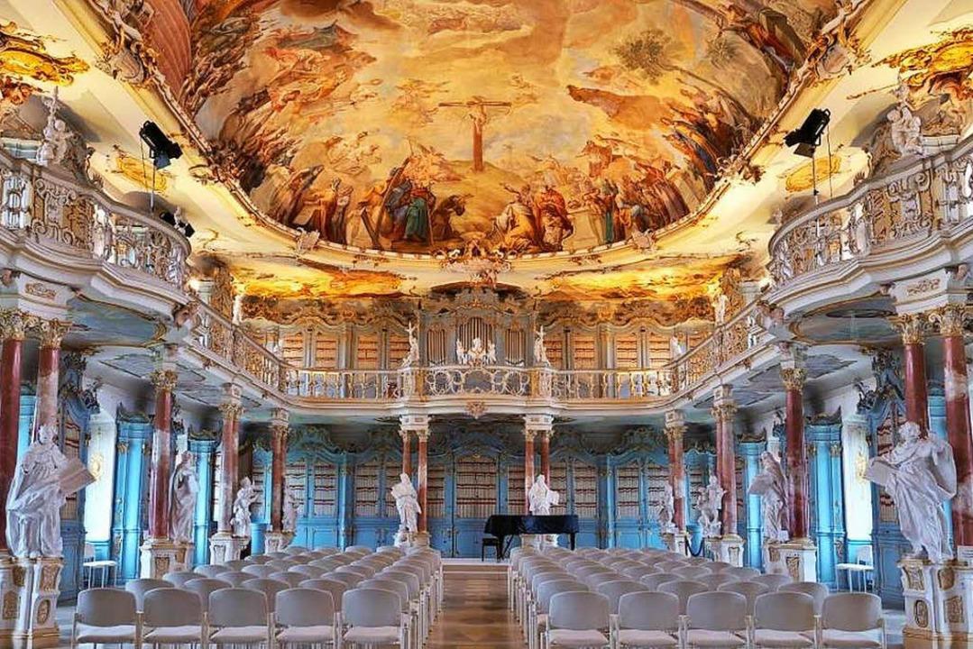 Bibliothekssaal des Klosters Schussenried  | Foto: Th. Jungkind (Staatl. Schlösser u. Gärten BW)