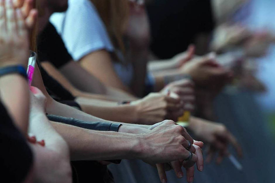 Limp Bizkit beim I EM Music Festival in Emmendingen: gepflegte Eskalation und schweißdurchtränkte Zuschauer. (Foto: Patrik Müller)