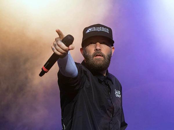 Limp Bizkit beim I EM Music Festival in Emmendingen: gepflegte Eskalation und schweißdurchtränkte Zuschauer.