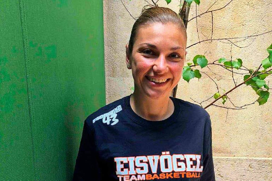 Die neue Eisvögel-Trainerin: Hanna Ballhaus  | Foto: bz