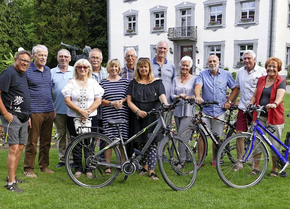 Auf Radtour im Südschwarzwald begab si...Freundeskreises Purkersdorf empfangen.  | Foto: Axel Kremp