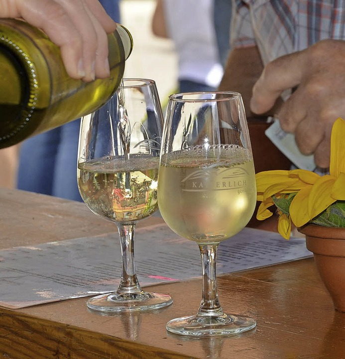 Regionale Genüsse - vom Wein bis hin z...Kaiserstuhl-Tuniberg-Tage in Sasbach.   | Foto: NGK/ Petra Littner