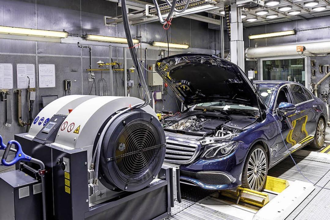 WLTP verschärft die Anforderungen auf dem Prüfstand.   | Foto: Daimler