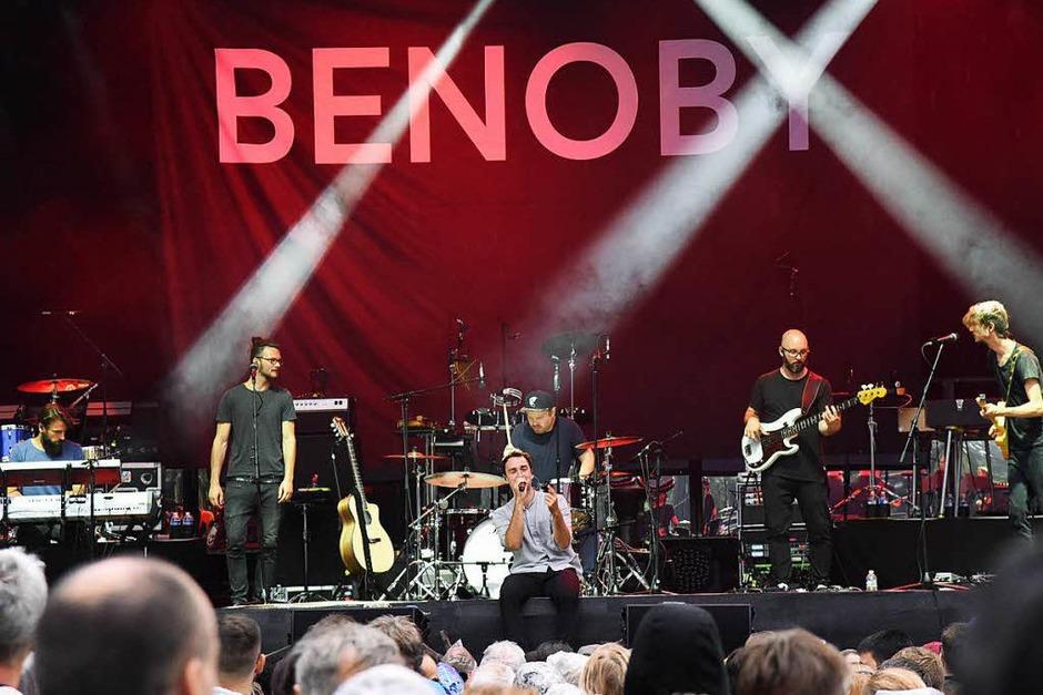 Benoby - musikalische Vorspeise vor dem Hauptgericht (Foto: Markus Zimmermann)