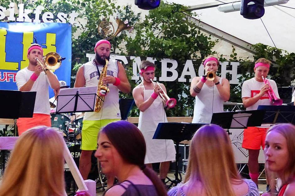 """Beste Stimmung herrschte beim Bezirksmusikfest, das der Musikverein """"Harmonie"""" Lembach organisiert hatte."""
