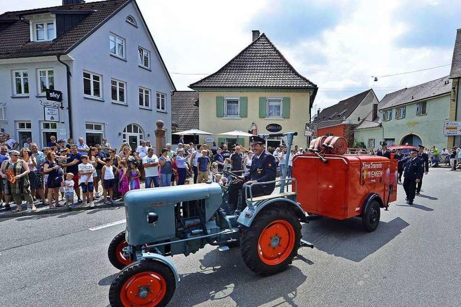 150 Jahre Feuerwehr Opfingen. Fotos vom Festwochenende. (Foto: Michael Bamberger)