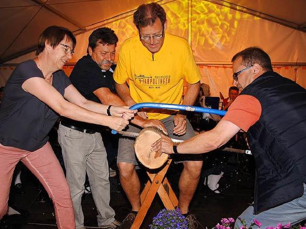 Zum 125-jährigen Bestehen des Harpolinger Musikvereins gab es beim großen Fest ein buntes Programm für die Besucher.