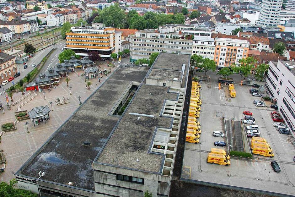 Der Blick vom Rathaus: So sah es 2010 aus. (Foto: Sabine Ehrentreich)