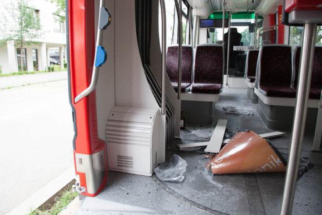 So sah's im Inneren der Bahn aus.  | Foto: Philipp Kiefer