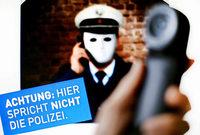 Falscher Polizeibeamter festgenommen